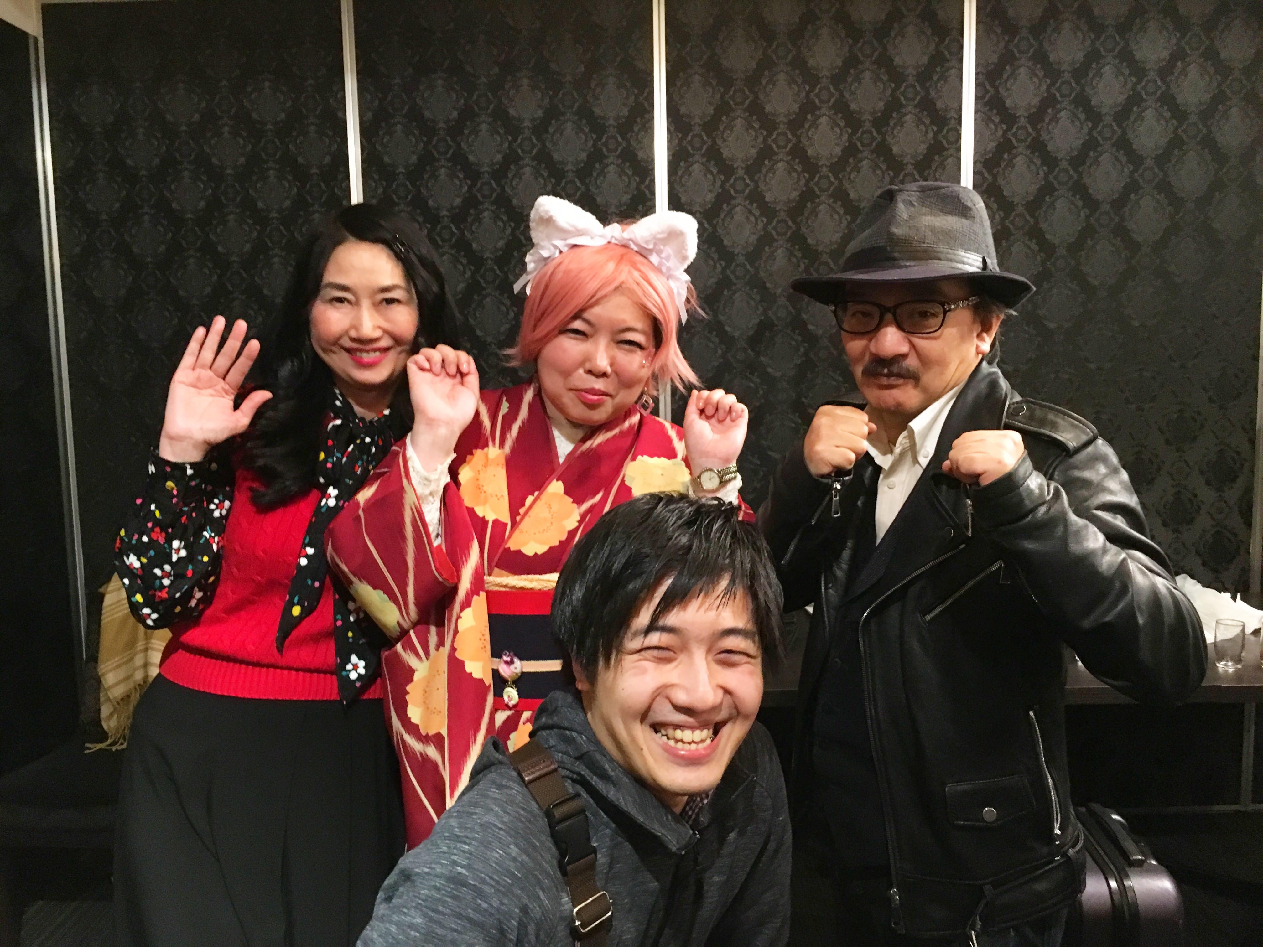 催眠ライブ,京都,6月,ボンバー畑さん